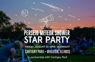 The Adler invites you and your family to come and enjoy one of the most dazzling sights of the night sky in 2016, the Perseid Meteor Shower.